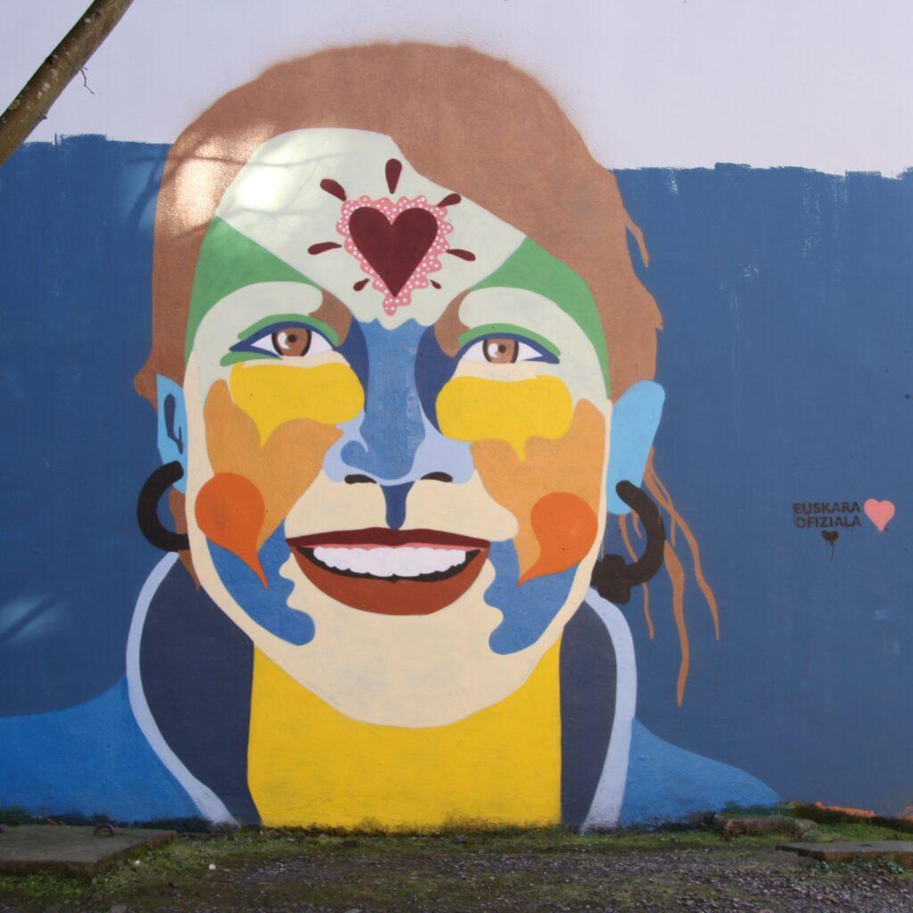 Mural in Bergara